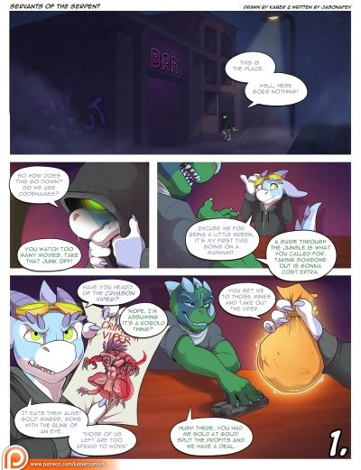 Servants Of The Serpent - part 5