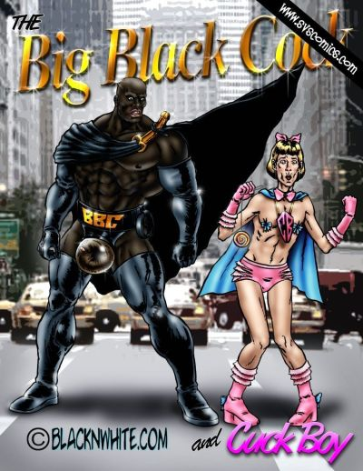 BlacknWhite- Big Black Cock and Cuck Boy