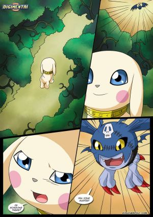 Gatomon The Slave