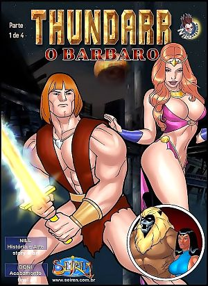 Thundarr- The Barbarian 1-Seiren