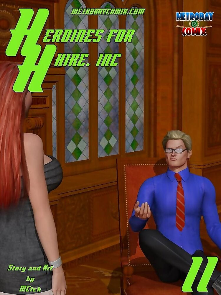 McTek- Heroines For Hire 11 – Metrobay