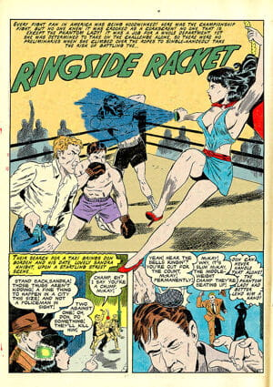 Phantom Lady 1 - Ringside Racket