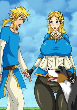 Zelda x Dog - part 2